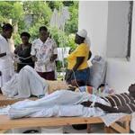 Enfermos afectados por el cólera