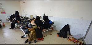 Brote de cólera en  Yemén