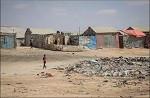 Campo de desplazados en Somalia