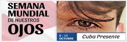 Semana Mundial de nuestros ojos.