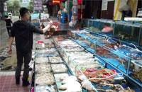 mercado-Wuhan, China