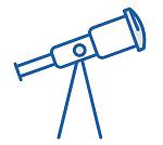 observatorio telecopio azul red