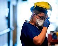 trabajadores de la salud covid red