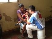 Atención humanitaria en Honduras