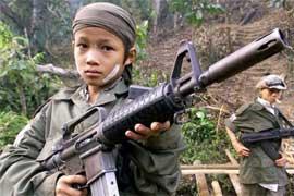 Niños en los conflictos armados