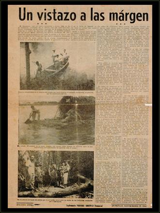 Artículo de la autoría de Ernesto Guevara publicado en el suplemento dominical Panamá América el 22 de noviembre de 1953