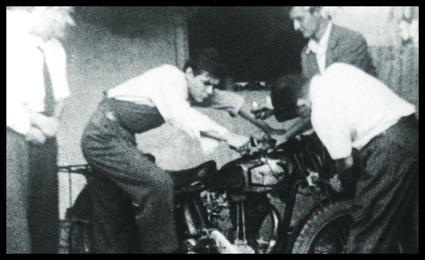 Alberto Granado y Ernesto Guevara en su primer viaje por Latinoamérica (1951-1952) (Foto: La Pastera. Museo del Che)