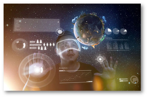 buscando información virtual