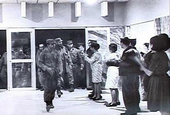 Inauguración del hospital de Sagua la Grande