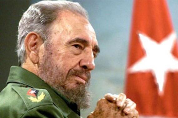 Fidel y bandera