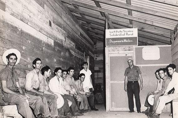 Servicio Médico Rural (II). Instituto Técnico de Salubridad Rural