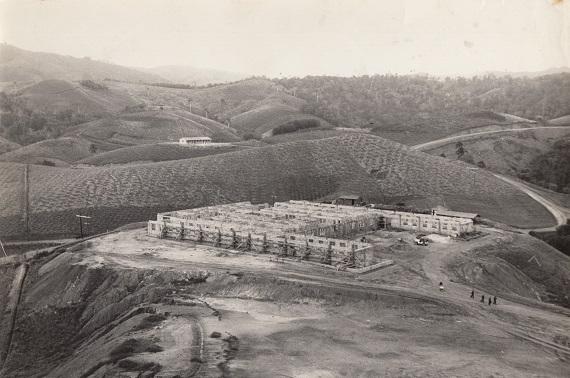 Construcción del Hospital de Cuatro Vientos en el Escambray