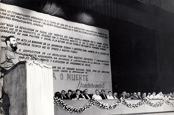 Graduación de estomatólogos. 1965