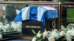 Partió la Caravana que lleva las cenizas de Fidel de La Habana a Santiago de Cuba
