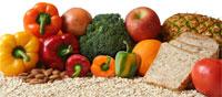 alimentos ricos en fibra vegetal