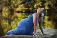 mujera embarazada