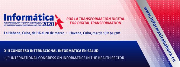 XIII Congreso Internacional de Informática en Salud