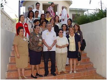 Actividad de publicación del sitio web de Puericultura, el 4 de abril de 2005