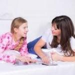 Conversación madre e hija