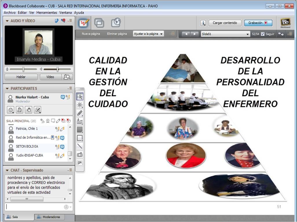 Teleconferencia: Impronta de la Pedagogía en la formación de Recursos Humanos en Enfermería