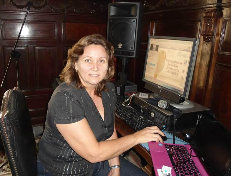 Teleconferencia Niurka Vialart Vidal