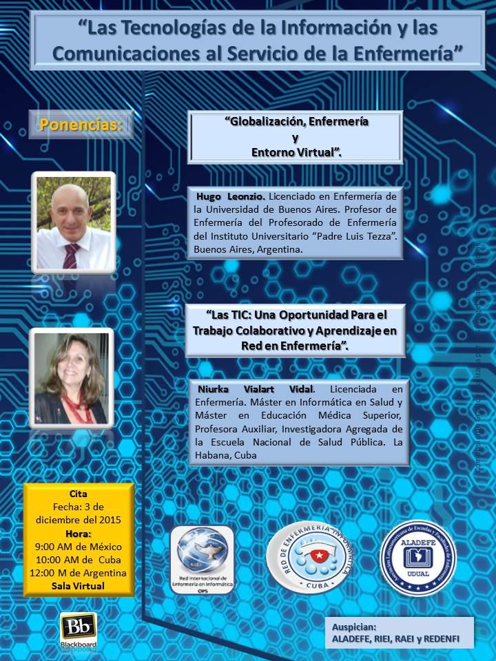 Teleconferencia: Las TIC al servicio de la enfermería