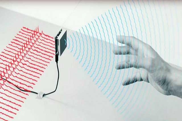 gestos y móvil