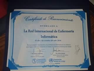 certificado excelencia