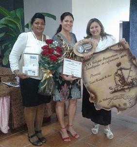Premio Rosangela Xaily y tutoras
