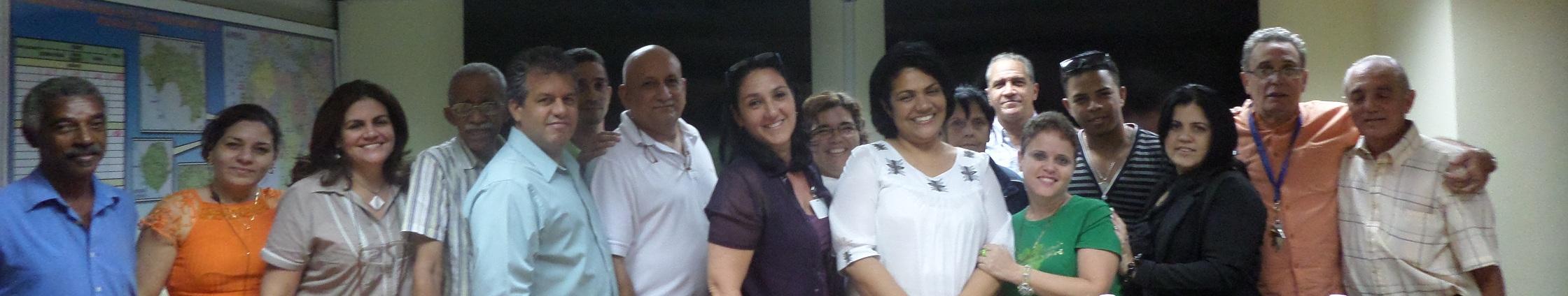 Grupo de trabajo del Centro de Dirección Ministerial