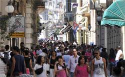 calles boulevar Habana cubanos
