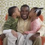 niños  y padre
