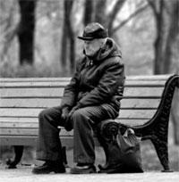 anciano soledad